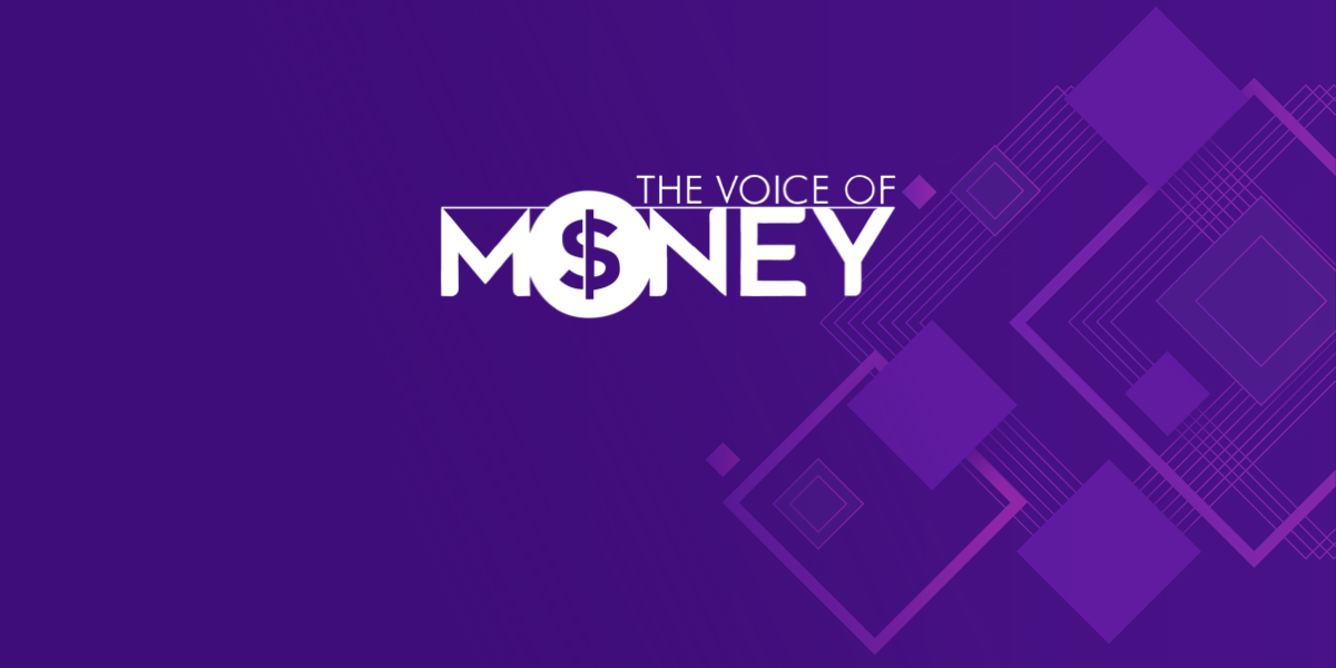 "Omilia CEO, Dimitris Vassos, covering voice tech, AI, and modern banking and finance at ""The Voice of Money"""